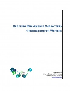 Pages from Crafting Remarkable Characters