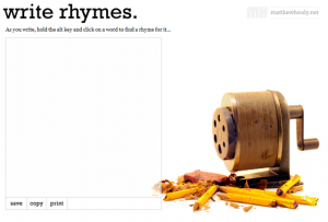 write rhymes