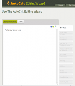 Autocrit website screenshot