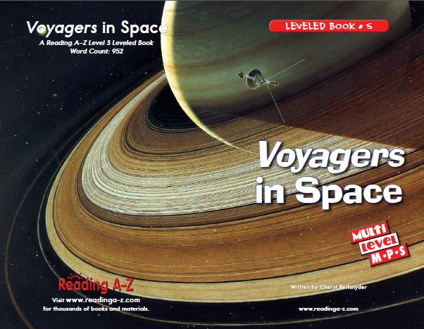 Voyagers in Space_Reading A-Z Level S Leveled Book