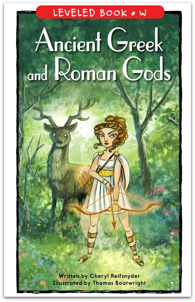 Ancient Greek and Roman Gods-CR