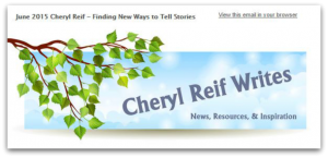 Cheryl_Reif_Writes_Newsletter
