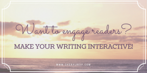 want to engage readers_